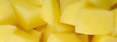selezionatrici ottiche patate potato sorting machine a cubetti